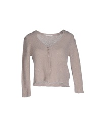 Ekle' Cardigans Dove Grey