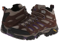 Merrell Moab Ventilator Mid Bracken Purple Women's Hiking Boots Brown