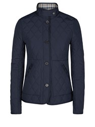 Aquascutum London Stoney Quilted Jacket Navy