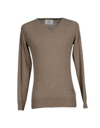 Dekker Knitwear Jumpers Men Dark Green