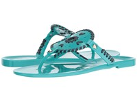 Jack Rogers Georgica Jelly Caribbean Blue Navy Women's Sandals
