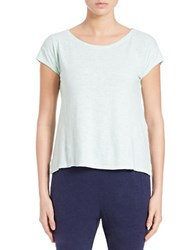 Eileen Fisher Plus Hemp And Cotton Tee