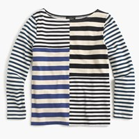 J.Crew Patchwork Stripe T Shirt