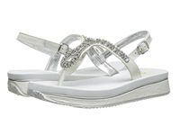 Volatile Jeweled White Women's Sandals