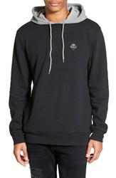 Men's Rvca 'Double Down' Hoodie Black