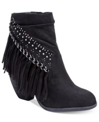 Naughty Monkey Not Rated Noora Ankle Booties Women's Shoes Black