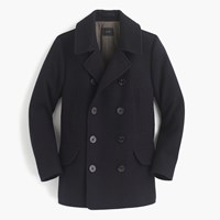 J.Crew Tall Dock Peacoat With Thinsulate Navy