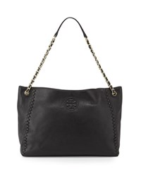 Marion Chain Strap Slouchy Tote Bag Black Women's Tory Burch