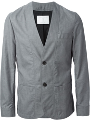 Societe Anonyme Collarless Blazer