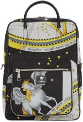 Versace Multicolor Constellations Print Backpack