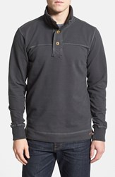 Men's Jeremiah 'Taylor' French Terry Mock Neck Pullover
