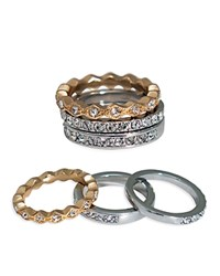 Abs By Allen Schwartz Rings Set Of 3 Gold