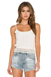 Band Of Gypsies Picnic Tank Ivory