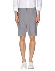 Public School Trousers Bermuda Shorts Men Light Grey