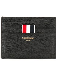 Thom Browne Striped Wallet Black