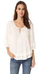 Ella Moss Gioannia Blouse Natural