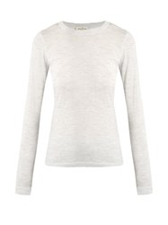 Le Kasha Paraty Cashmere Sweater Light Grey
