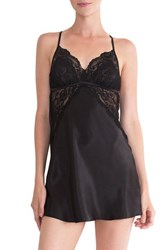 In Bloom By Jonquil Women's Lace Inset Satin Chemise
