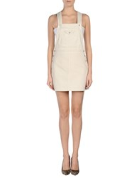 Alexa Chung For Ag Dungarees Skirt Dungarees Women Ivory