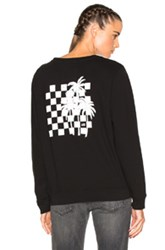 Adaptation Crew Sweatshirt In Black
