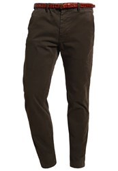Scotch And Soda Chinos Rifle Green Oliv