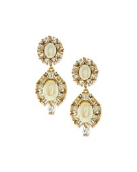 Pearly Statement Drop Earrings Kate Spade New York White