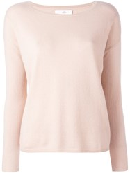 Allude Boat Neck Jumper Nude Neutrals