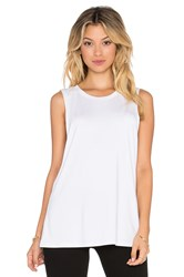 Rise Third Base Tank White
