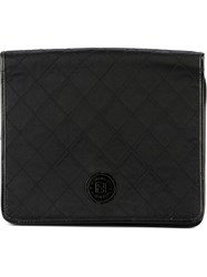 Fendi Vintage Clutch Bag Black