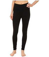 Alo Yoga High Waist Airbrushed Leggings Black Women's Casual Pants