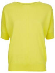 Jaeger Cashmere Slouchy Top Greener Pastures