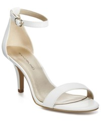 Bandolino Madia Dress Sandals White