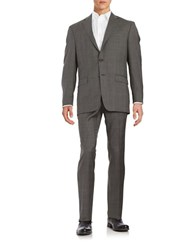Lauren Ralph Lauren Two Piece Wool Suit Set Grey