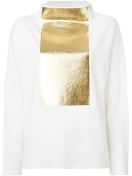 Gianluca Capannolo Foil Print Sweater