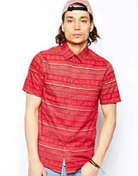 Altamont Fielder Shirt Red