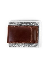 Boconi Men's 'Bryant' Leather Magnetic Money Clip
