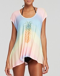 Wildfox Couture Wildfox Malibu Pineapple Tulum Tunic Swim Cover Up