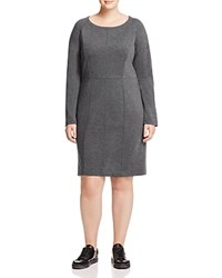 Marina Rinaldi Olivetta Jersey Dress Dark Gray
