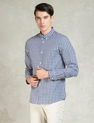 Dark Navy Chemise Button Down Shirt