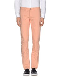 Siviglia Trousers Casual Trousers Men Salmon Pink