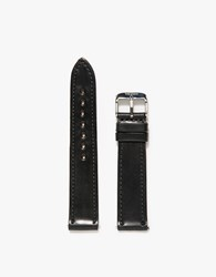 Weiss Watch Co. Horween Shell Cordovan Strap Black