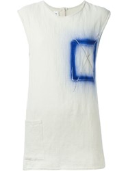 Filles A Papa 'Chelsea' Tank Top White