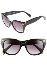 Freida Rothman 'Margaux Elegant' 54Mm Retro Sunglasses Black