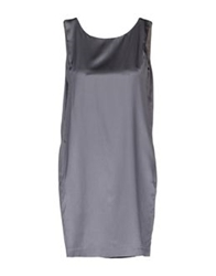 Tonello Short Dresses Slate Blue