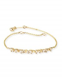 Suzanne Kalan Baguette Diamond Bracelet In 18K Yellow Gold