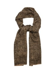Denis Colomb Ise Yak And Silk Blend Scarf Black Multi