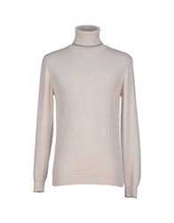 Alpha Massimo Rebecchi Turtlenecks Beige
