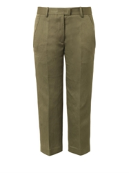 Isabel Marant Blake Flat Front Cropped Trousers