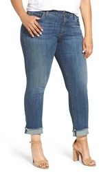 Kut From The Kloth Plus Size Women's Stretch Roll Cuff Ankle Jeans