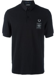 Fred Perry X Art Comes First 'Woven Collar Pique' Polo Shirt Blue